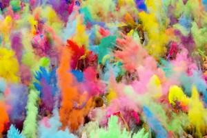 Lancio Holi Festival - color party - festival del colore