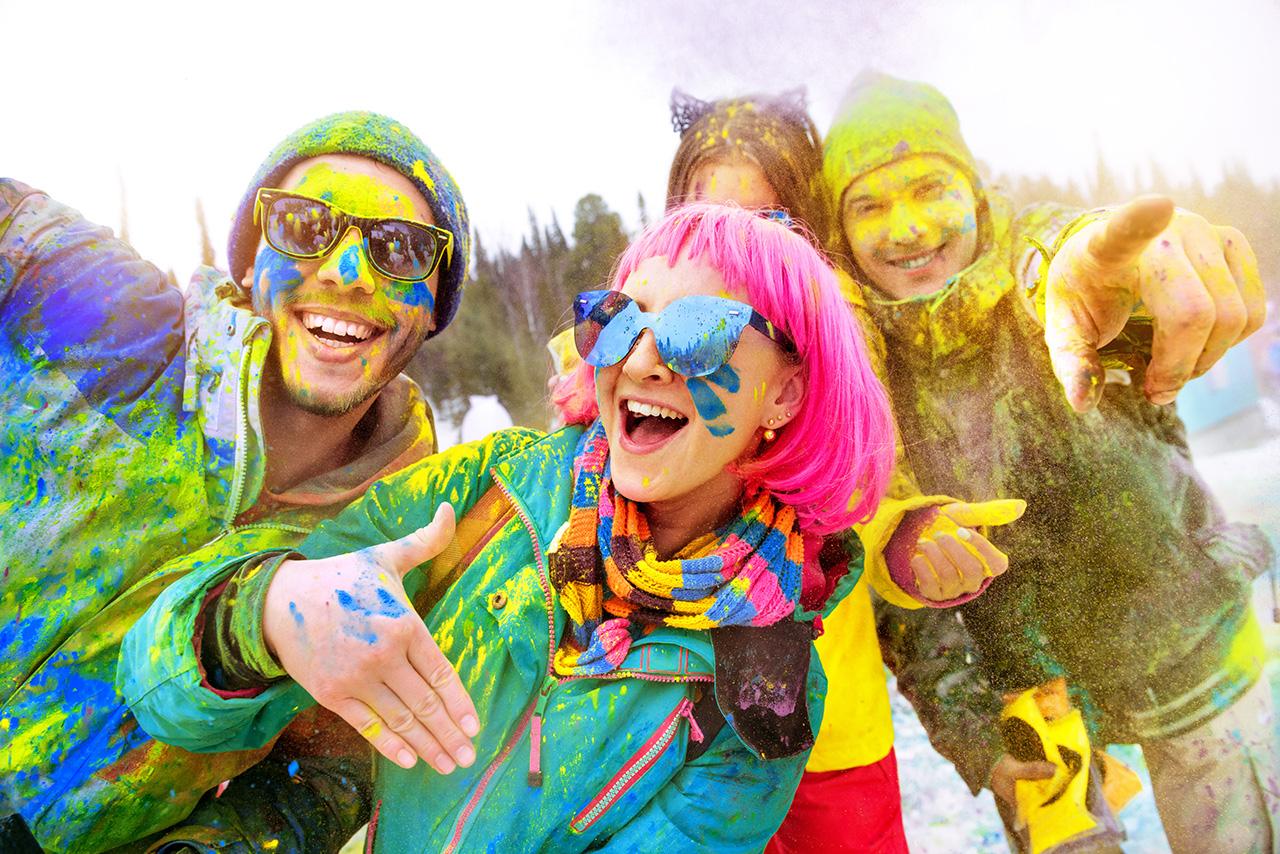 holi color festival